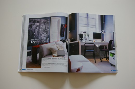 D co le nouveau catalogue ikea est l le blog de bea for Place bureau catalogue