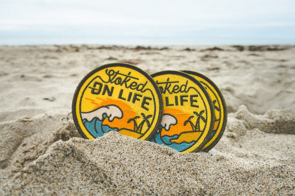 asilda-store-Stoked on Life Patch